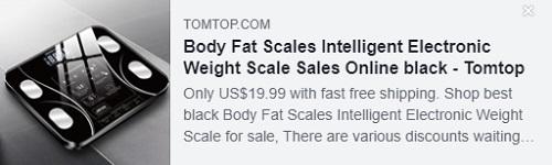 ميزان الدهون بالجسم مقياس الوزن الإلكتروني الذكي السعر: 19.99 دولارًا